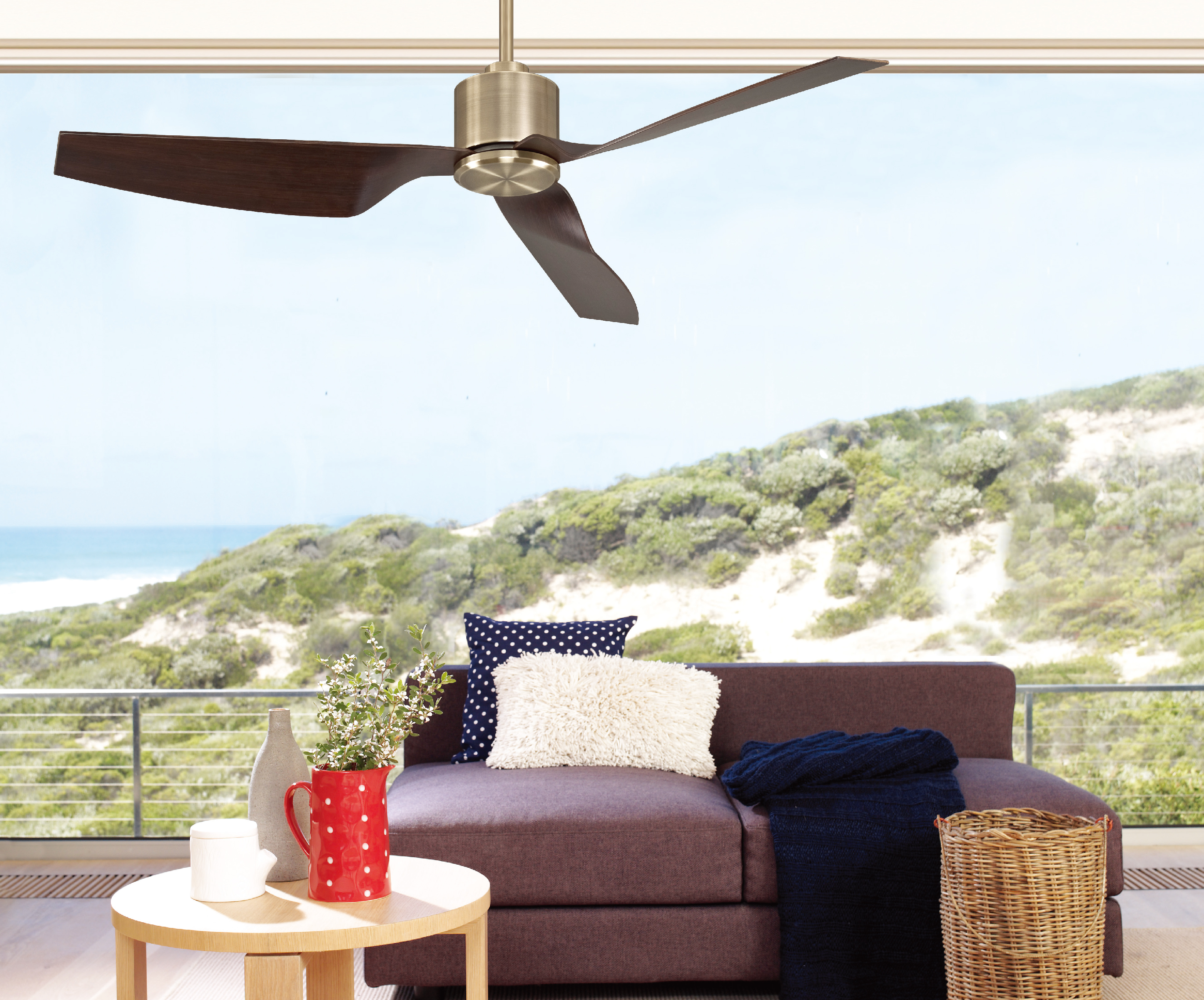 Ultra Low Energy DC Ceiling Fans Available