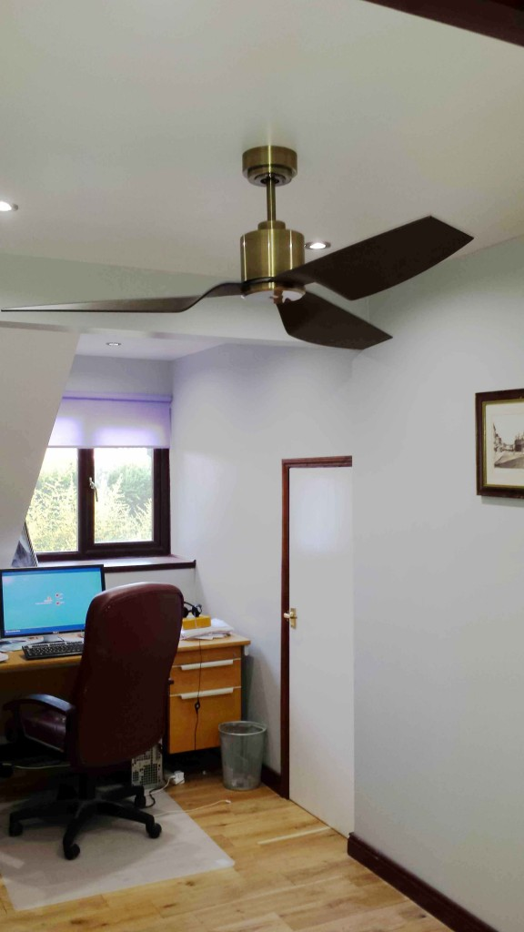 The perfect home office ceiling fan