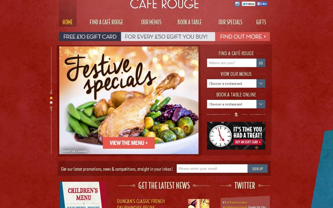 Café Rouge Rolls Out Hunter Fans Nationwide