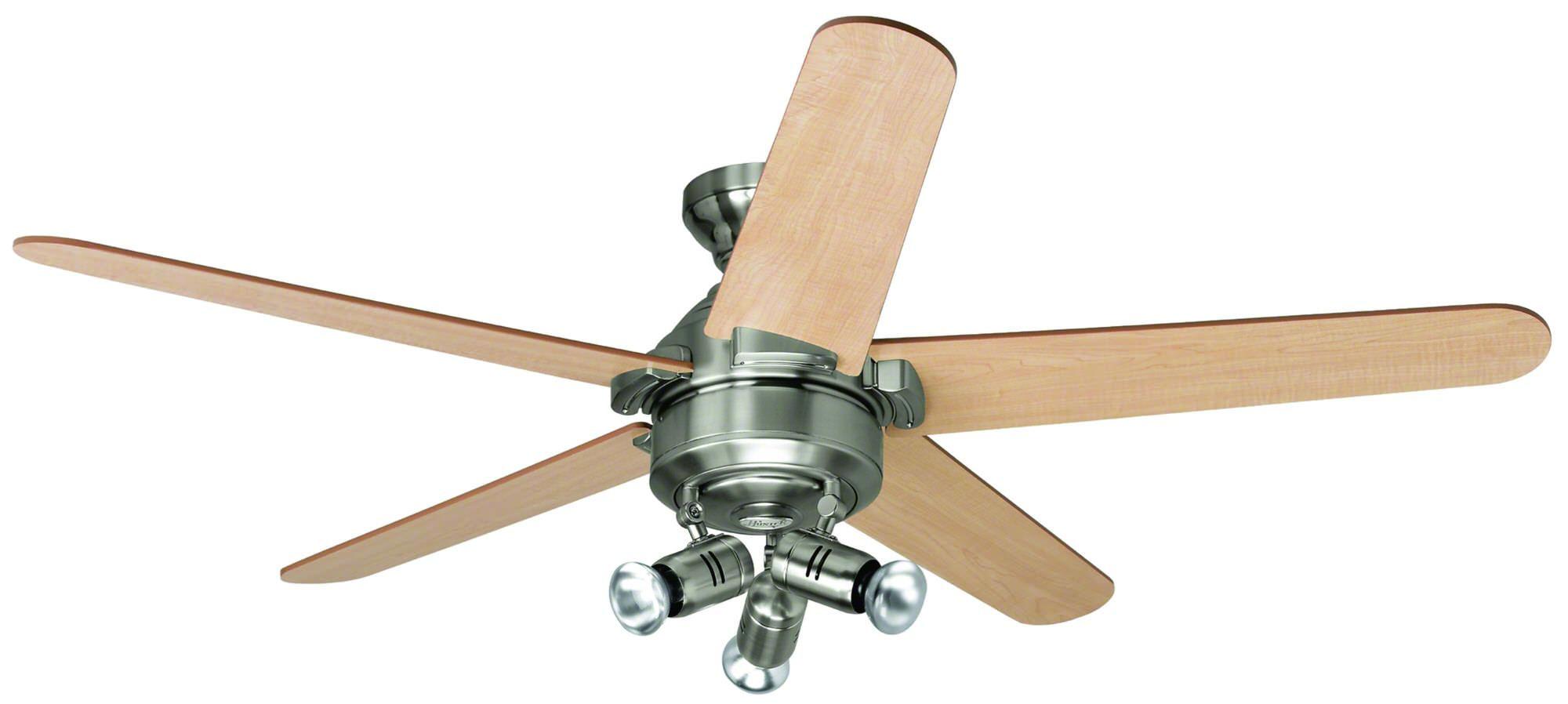 Brushed Nickel Ceiling Fan Light 114390 Depvg
