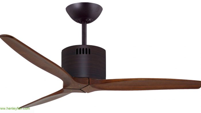 MrKen Slim Designer Low Energy DC Ceiling Fan in Matt Black