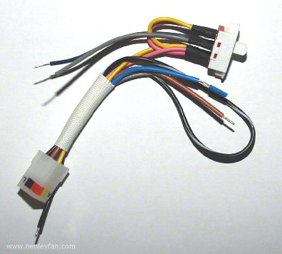 hunter ceiling fan wiring harness replacement    hunter    white reverse switch with    harness        hunter    white reverse switch with    harness