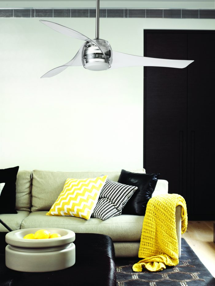 Minka Aire Artemis Ceiling Fan with Free Lucci Remote off