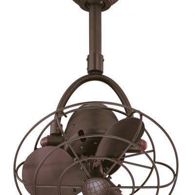 Matthews-Atlas Diane Oscillating Small Space Ceiling Fan