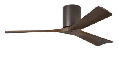 """Matthews Irene 3H Hugger Low Energy DC Ceiling Fan - 52"""", 42"""", Lifetime Warranty"""