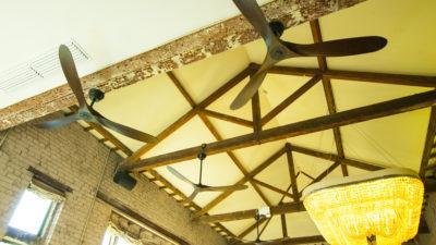 Henley Zephyr Wood Low Energy DC Designer Ceiling Fan with Remote Control, Lifetime Warranty