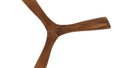 "Henley Aeolus Solid Wood Designer 52""/132cm Ceiling Fan with Remote Control"