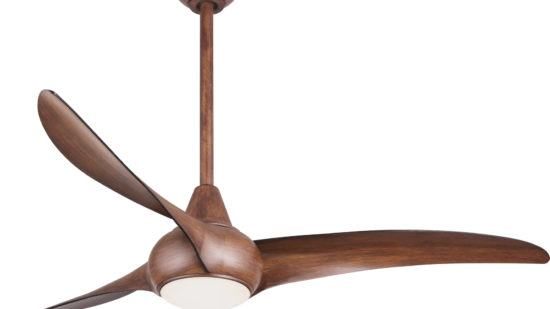 """Minka Aire 52""""/132cm Light Wave Ceiling Fan with LED Light and Remote Control - Lifetime Warranty"""