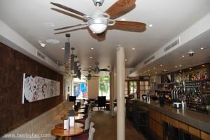 079 Henley Ceiling Fan Hunter Lugano Hertford house hotel bar