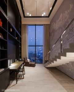 177_Henley_Ceiling_Fan_MrKen_3D_Issara_Penthouse_Ladprao_Bangkok