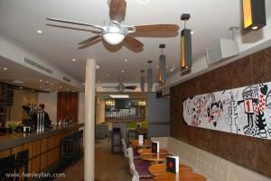 374 Henley Ceiling fan hertford house hotel